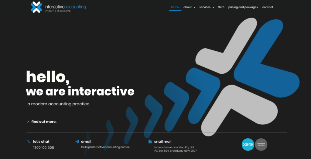 Interactive Accounting website