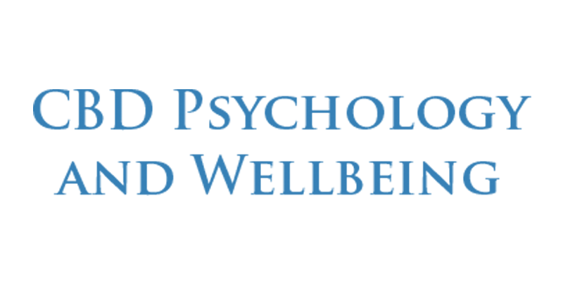 CBDPsychology and Wellbeing Logo
